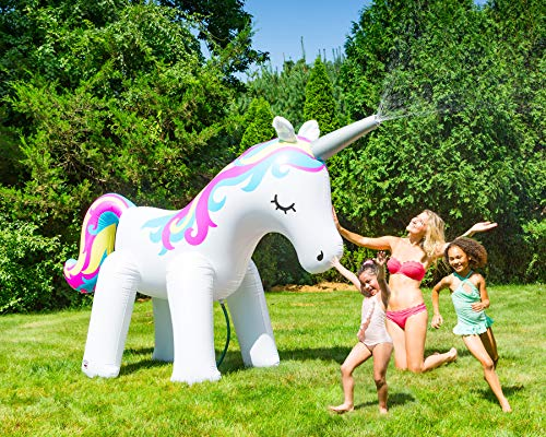 Unbekannt Big Mouth Toys BMYS-0008-EU Big Mouth Sprinkler Einhorn Bright #New#, Mehrfarbig