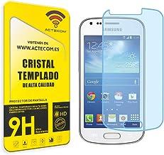 cogac ACTECOM® Protector DE Pantalla Compatible para Samsung Trend Plus S7580 Cristal Vidrio Templado
