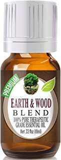 Earth & Wood Essential Oil Blend - 100% Pure Therapeutic Grade Earth & Wood Blend Oil - 10ml