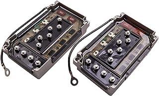 maXpeedingrods Caixa de interruptor CDI para motor externo Mercury 50-225 HP 3 e 6 cilindros 2 peças Igniter Switch Box