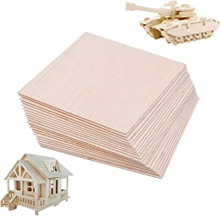 15pcs Balsa Wood Sheets Plate Wooden for House Airplane Ship Boat DIY Model 150x100x1mm (#2)