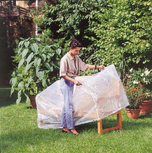Friedola 15484 Wehncke Housse/Bâche de Protection pour Banc de Jardin 160 x 80 x 75 cm