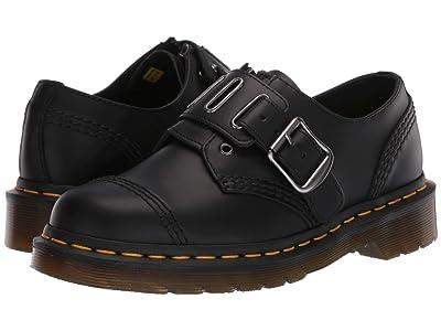 Dr. Martens 1461 Quynn Low (Black) Shoes