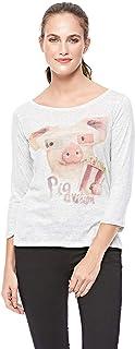 Pull & Bear T-Shirt for Women