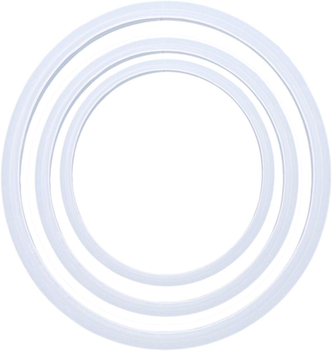 Aiasiry Pi/èces De Rechange De Joint De Cuiseur /À Pression De Silicone De Cuisine pour La Mijoteuse Transparente 18Cm