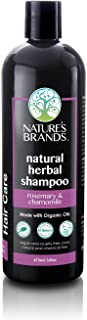 Herbal Choice Mari Natural Shampoo, Rosemary & Chamomile; 16floz, Made with Organic