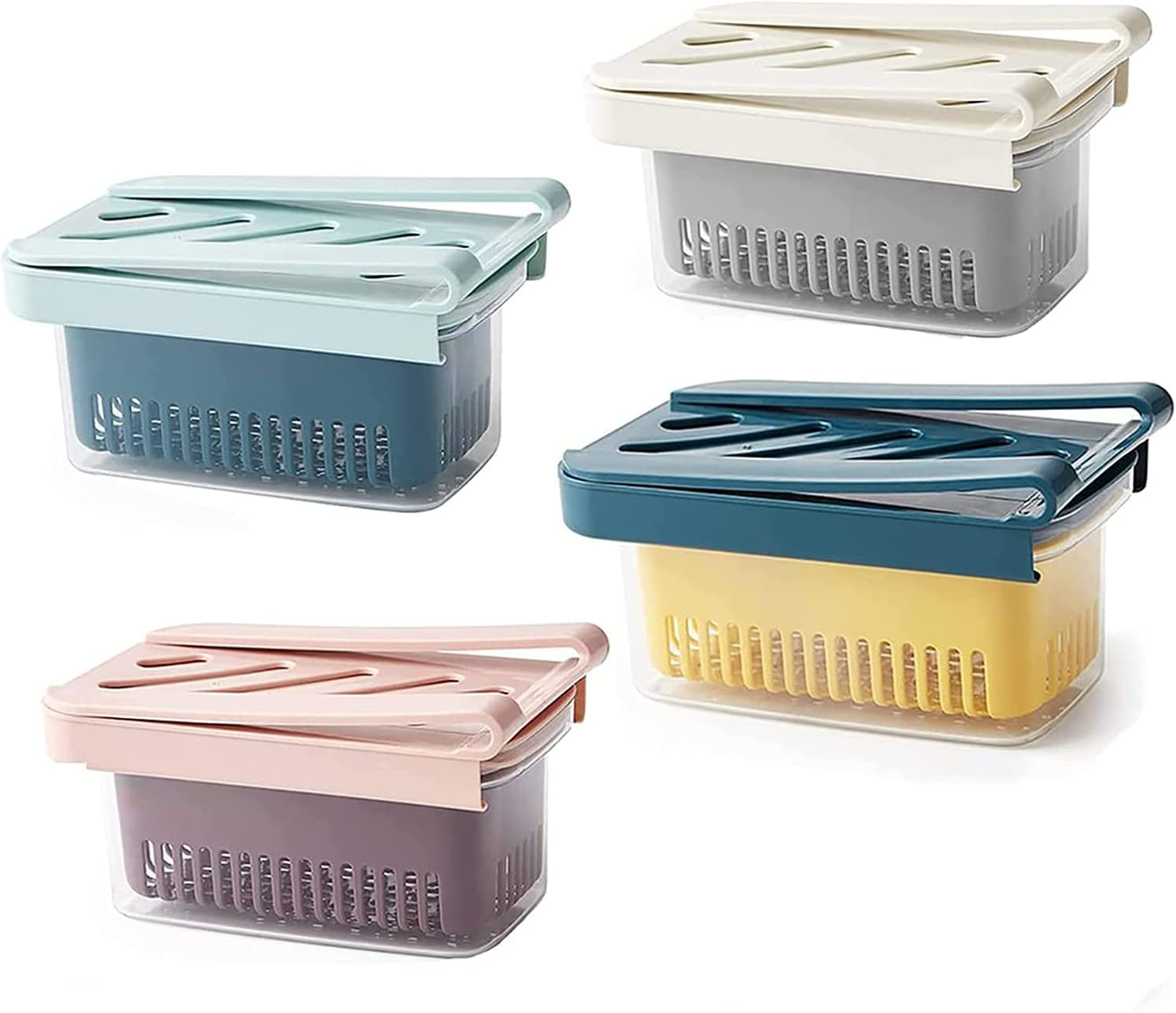 HEWANG Inexpensive Multifunction Refrigerator Storage Box Pull Fridge Out Dr Store