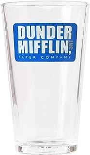 The Office Dunder Mifflin 16 oz Pint Glass