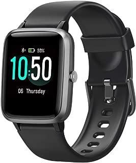 Fitness Tracker Heart Rate Monitor Watches for Men Women,Fitness Watch IP68 Waterproof Digital...