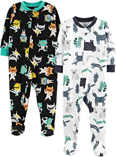 ba8dbd40b7 Amazon.com  Whites - Blanket Sleepers   Sleepwear   Robes  Clothing ...