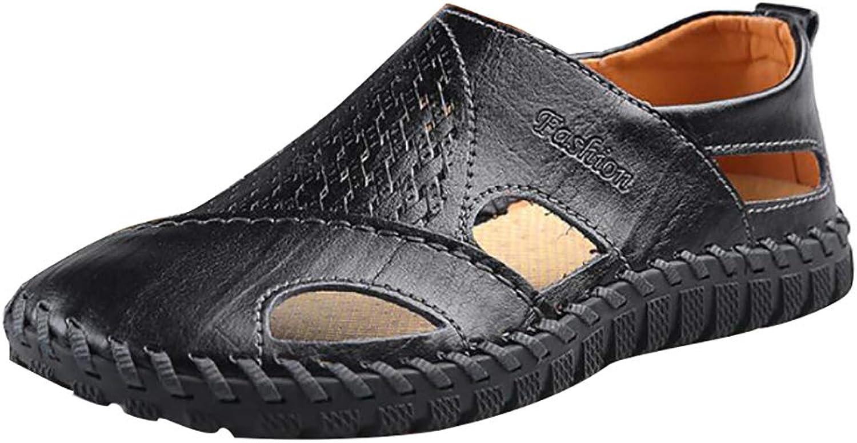 Mens Flip Flops Summer Baotou shoes Cushioned Yoga Foam Non Slip Rubber Sole Thong Sandals