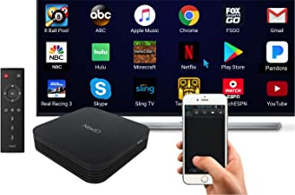 NextD Android Mini PC with Top Specs [4K, Android 7.1, S912 Octa-Core, 3GB/32GB, 2.4/5G WiFi+BT] +Using Smartphone as Remote Control with MultiTouch and Motion Input +Supporting External TouchScreens