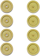 ENE 8pc Safety Car Safety Stopper Spacing Limit Buckle Clip Retainer Seatbelt Stopknop (Color Name : Beige)