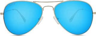 Eyewear - Cruz - Designer Aviator Sunglasses for Men & Women - 100% UVA/UVB [Polarized]