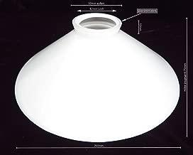 joyMerit 2 St/ücke Glasschirm Gerade Zylinder Glas Lampenschirm Ersatz # 1