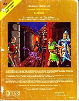 A2 Secret of the Slavers Stockade - Book  of the Advanced Dungeons and Dragons Module #C4