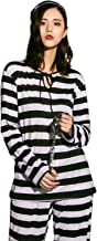 [ブライトララ] ハロウィン コスプレ 囚人 囚人服 プリズン 仮装 大人 コスチューム ハロウィン仮装