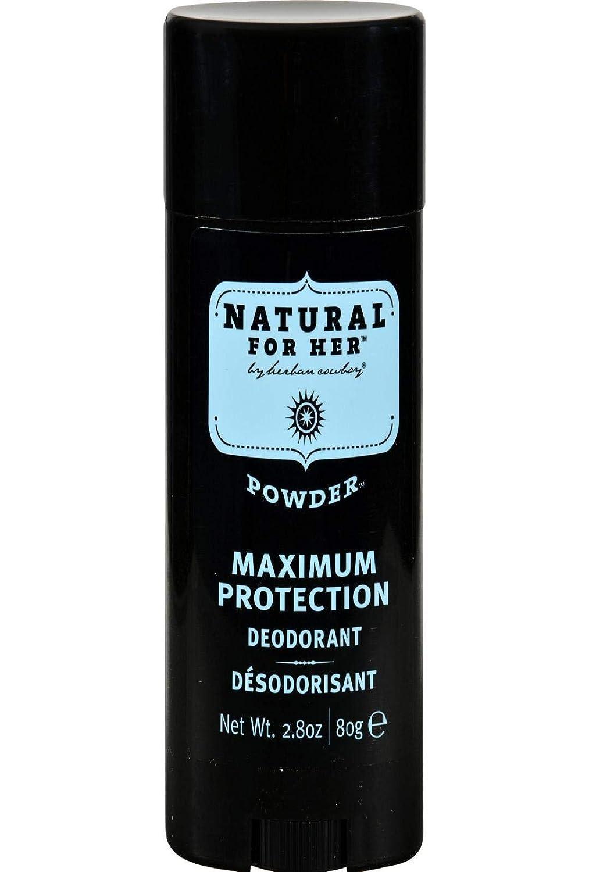 Herban Cowboy Natural Powder Deodorant New mail order Cheap bargain Protection Maximum Scent