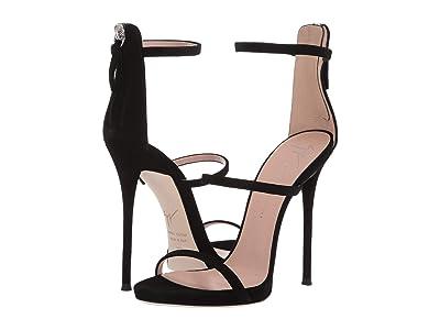 Giuseppe Zanotti Harmony Heel Sandal (Nero) Women
