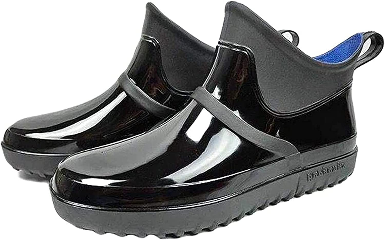 Some reservation Manufacturer OFFicial shop YUESFZ rain Boots Men's Rain Garden Shoes Waterproof Anti