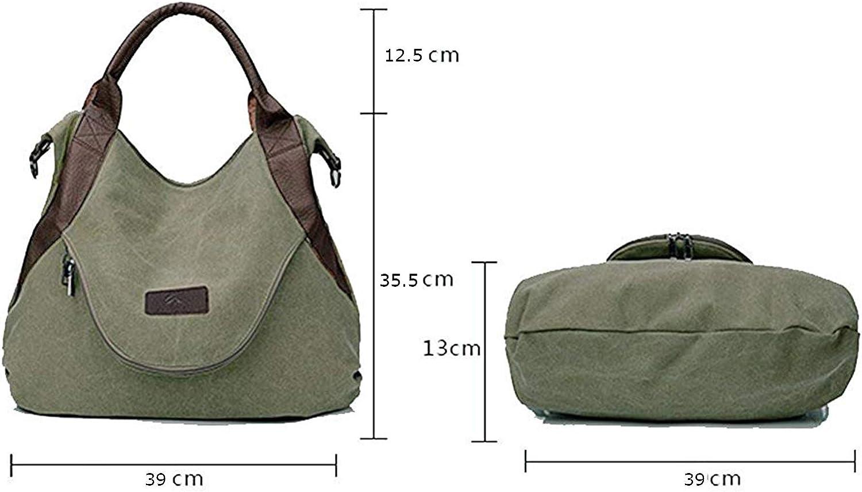 Hainan Canvas Handbags for Women, Shoulder Cross body Handbags Canvas Leather Bags canvas shoulder bag