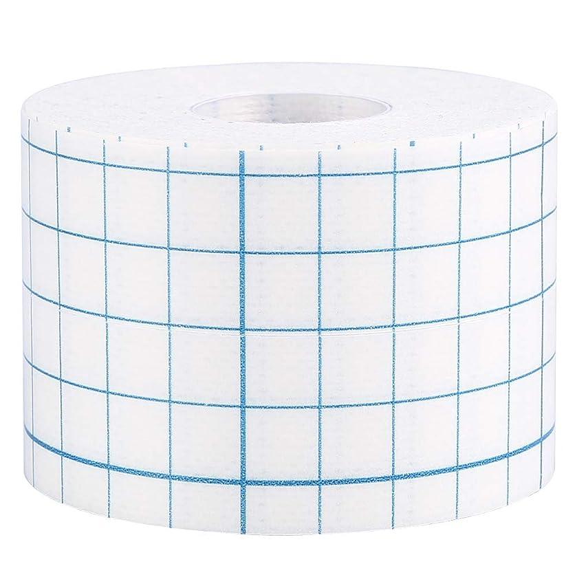 重要性負歩き回る3サイズ1ロールプロフェッショナル不織布接着創傷ドレッシング医療用固定テープ包帯(5cm x 10m)