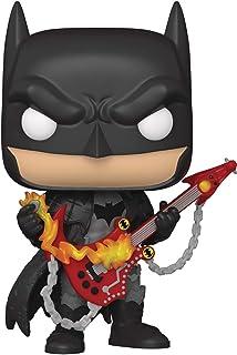 Pop! DC Heroes: Death Metal Batman con guitarra Figura de vinilo
