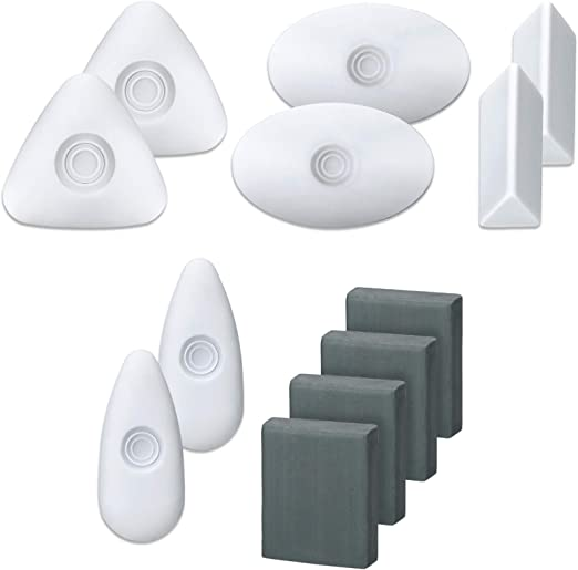 Amazon.com : 12 Pieces Drawing Art Erasers Multi-Shape Pencil Painting Erasers Easy Grip White Erasers Kneaded Eraser Moldable Erasers for Art Drawing Writing Sketching : Office Products