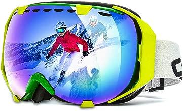 Masques de Protection Snowboard Goggle Hiver Alpinisme /&Moto Double Lentille Sph/érique Anti-UV400//Bu/ée//Vent /Étanche pour Femmes et Hommes Audew Lunnettes de Ski