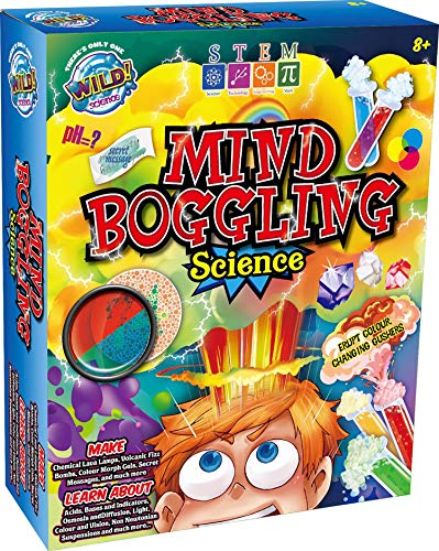 WILD! Science - MIND BOGGLING Kids Science Experiments. Chemical Lava Lamps, Mini Volcanos, Learn about vision & light and more!