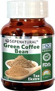 Green Coffee Bean Powder Sepenatural 50 gr.
