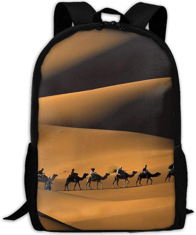 2c444d3683cd Adult Backpack Desert Camels Team College Daypack Bag Unisex ...