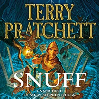 Snuff                   Written by:                                                                                                                                 Terry Pratchett                               Narrated by:                                                                                                                                 Stephen Briggs                      Length: 11 hrs and 29 mins     27 ratings     Overall 4.9