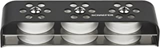 Schaefer Six Sheave 7 Series Deck Organizer, 3 Over 3 Design with Aluminum Top Plate and Stainless Steel Base