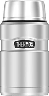 THERMOS King 24 Ounce Food Jar, Stainless Steel
