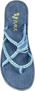 Plaka Flip Flops Sandals for Women Oceanside