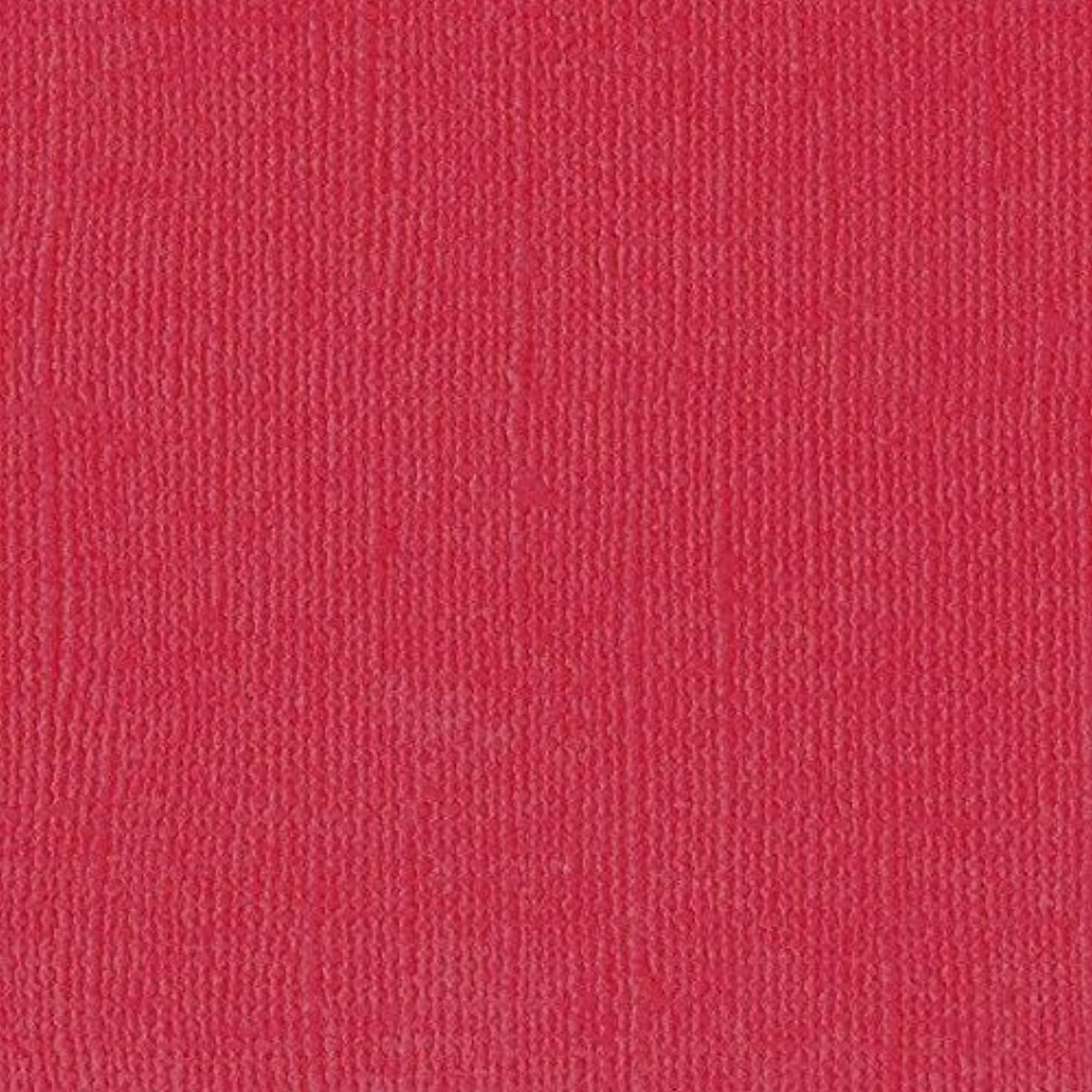 Vaessen Creative A4 Texture Florence Cardstock Canvas, Paper, Ruby, One Size