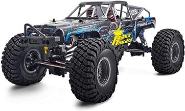 Z.J-TTravel Coches de Control Remoto 4X4, RC 1:10 4Wd Off-Road Rock 4X4 Energía eléctrica Impermeable Hobby Rock Truck Juguetes para niños