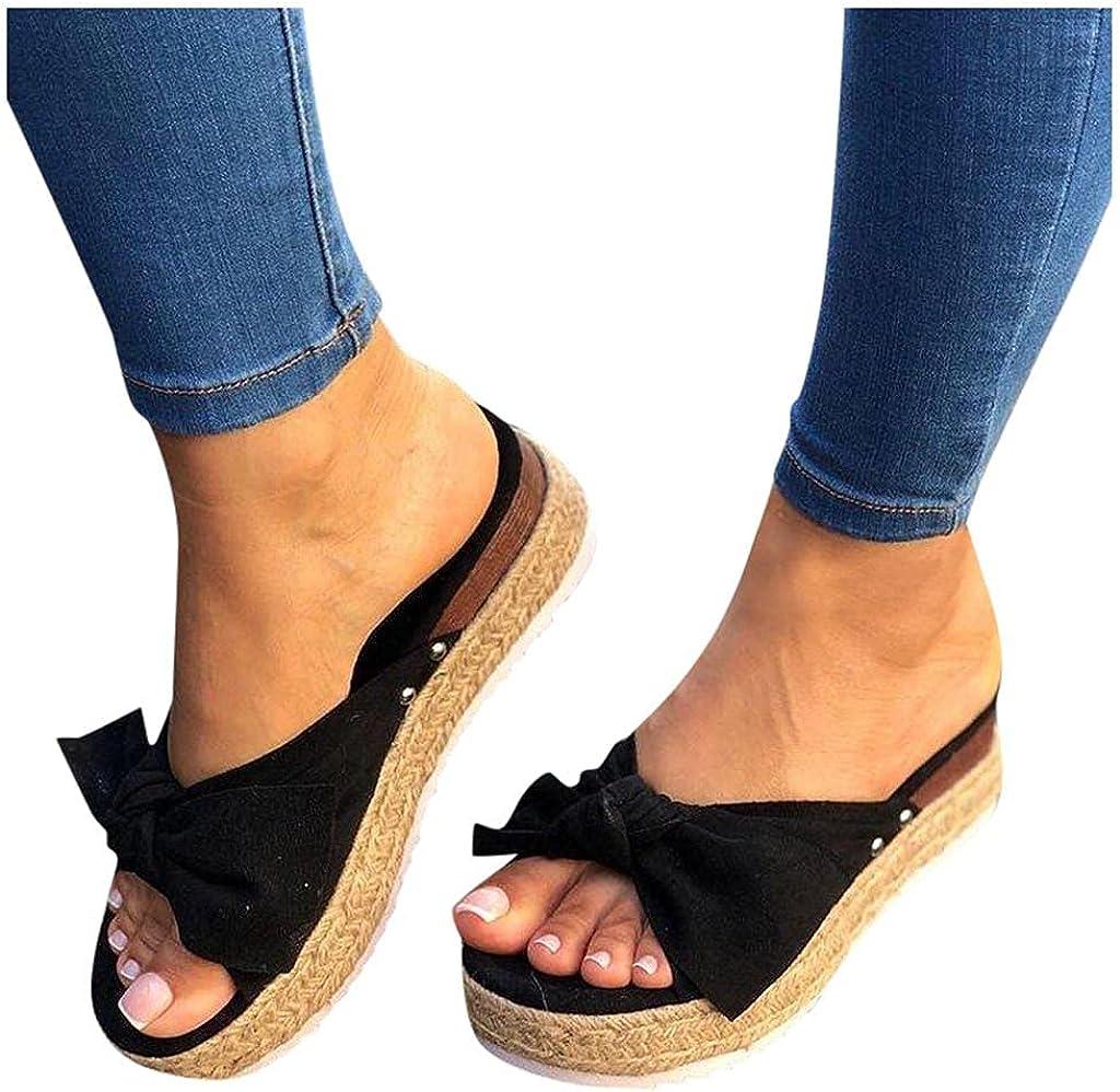 Toeava Sandals for Women Wedge, Platform Sandals Open Toe Vintag
