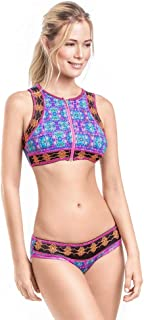 Womens Bikini Swimsuit Hand Made Swimwear Multicolor (Mix and Match, Top and Bottom Sold Separately)