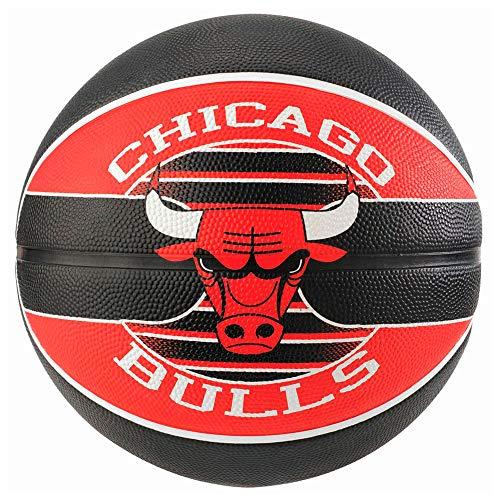 Bola Basquete Spalding Nba Chicago Bulls Cor: PTO/VERM - Tam: UN