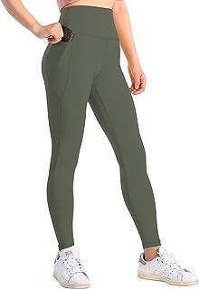 Generies Women's Yoga Leggings High Waist Workout Pants with Pockets Tummy Control Squat