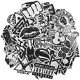 120 pegatinas de vinilo, diseño tipo graffiti, pegatinas auto, moto, coche,...