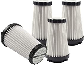 KEEPOW 4 Pack Replacement F2 Filter Compatible with Dirt Devil Dynamite Vacuum SD20505, M084650, M084100, M08245X, Part 3SFA11500X