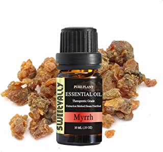 Myrrh Essential Oil - Organic Pure Essential Oil - Topically Applied in Diffuser, Humidifier, Massage, Skin & Hair Care, C...