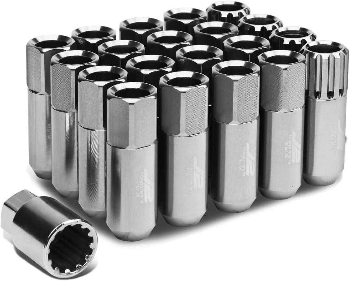 J2 Engineering LN-T7-010-15-SL Limited price Silver M12X1.5 Aluminum Regular discount 7075 16Pc