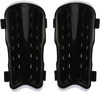 Haofy Espinilleras de fútbol Perforadas para Adultos, Plastico Fútbol Espinilleras para la Protección de Pantorrillas para Principiantes y protección Integral para Sus piernas