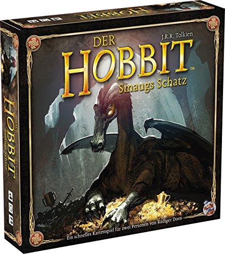 Asmodee HE725 - Hobbit - Smaugs Schatz, Kartenspiel