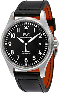 Men's Quartz Watch with Stainless Steel Strap, Black (Model: IW327001)