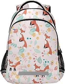 Fox Backpack Foxes Back Pack Fox Backpacks Girls Animal Bookbag Kids Foxs Bookbags